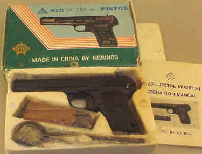 Norinco Model 54 7.62 Semi Auto Pistol