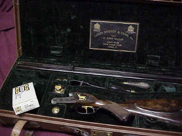 James Purdey & Sons Cased Double Rifle .45-70 caliber.