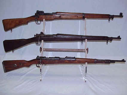 US Enfield, Springfield or German Mauser Rifle