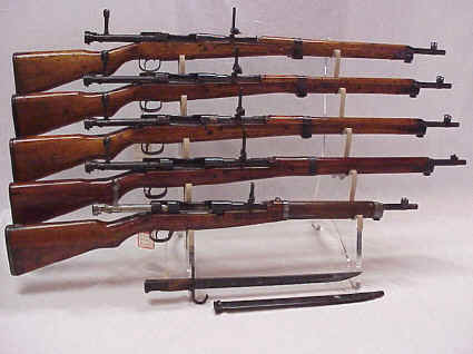 Good selection of Jap Rifles