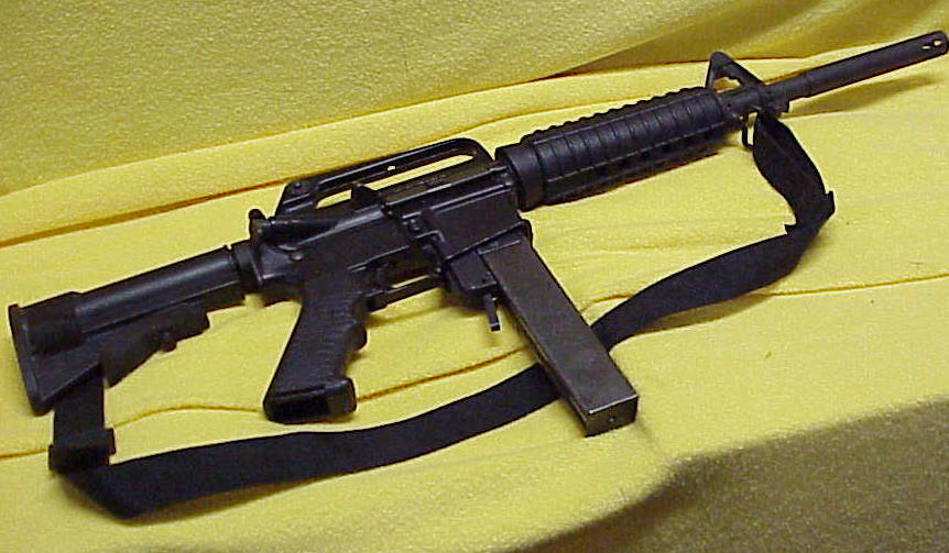 Olympic Arms AR-15 Rifle Pre-ban, 9mm