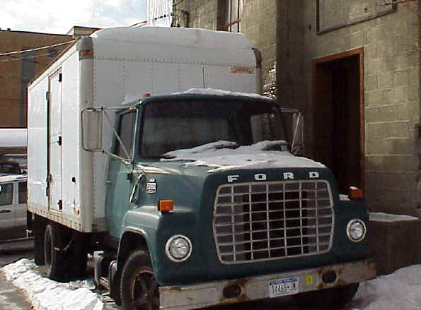Ford F600 Truck