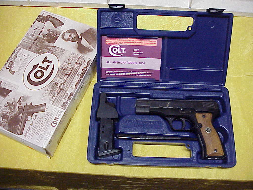 Colt Model 2000 Pistol, NIB First Edition, RK Serialized