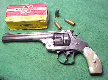Smith & Wesson DA First Model in .44 Russian Cal.