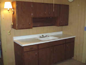 Kitchen Cabinet and Sink Unit, 1960's