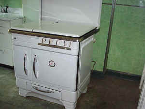 Columbian Gas Stove with Kerosene Heater