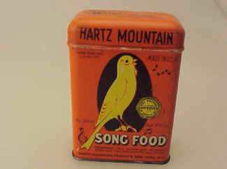 Hartz Mountain Song Food