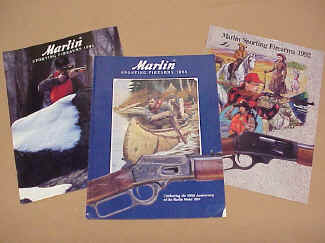 Marlin Gun Company, Three Product Catalogs