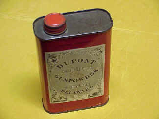 DuPont Gunpowder Tin for Black Powder