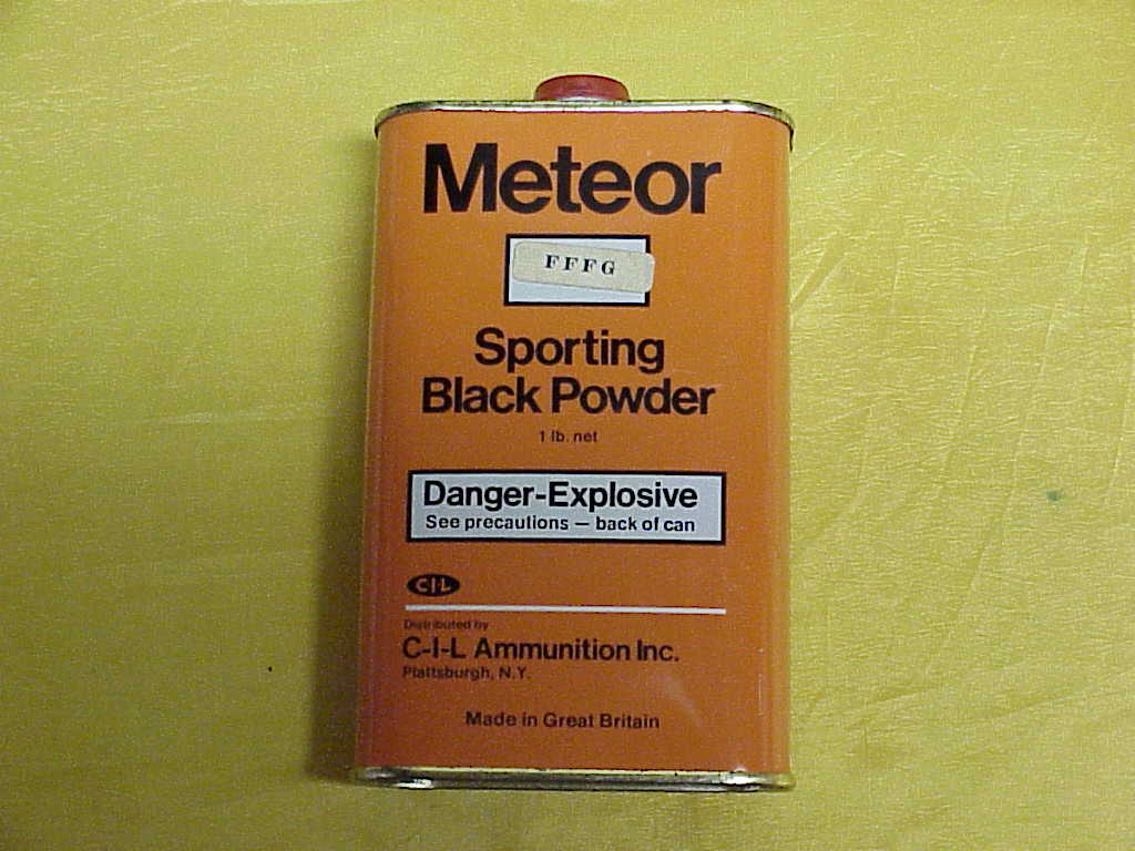 Meteor Black Powder Can CIL Ammo