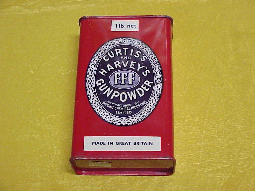 Curtis And Harvey Gun Powder Tin