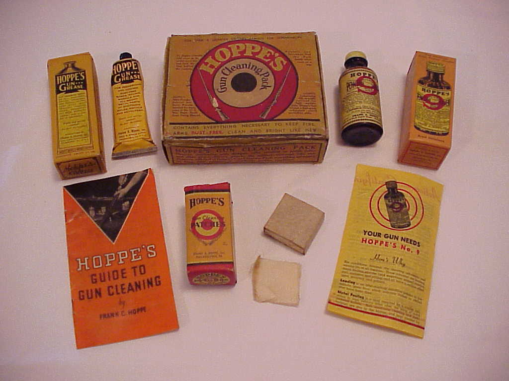 Hoppe's Company Gun Cleaning Kit, c1950