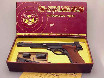High Standard Supermatic .22