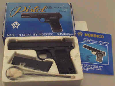 Norinco Model 213 Tokarev 9mm Semi-Auto Pistol