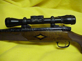 Weatherby Mk V Custom Deluxe Rifle .300 Weatherby Magnum, Special Order, Factory Engraved