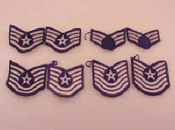 US Air Force Chevrons