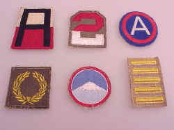 US WWII Insignia Patches