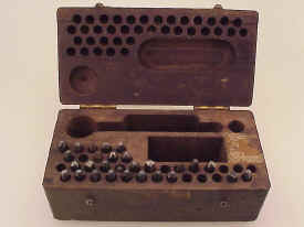US Army WWI Ordnance Metal Stamping Kit