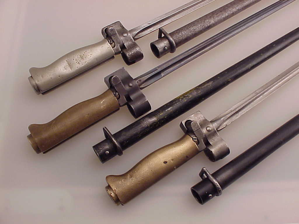 Three French Lebel Bayonets