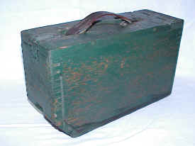 WWI Oak Ammo Box for Browning 50 caliber Machine Gun