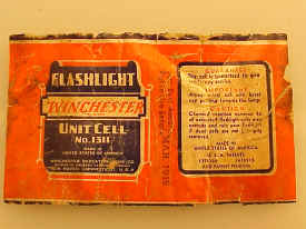 No. 1311 Battery Label