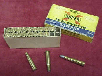 Western Box of Super X, .303 Savage Ammo