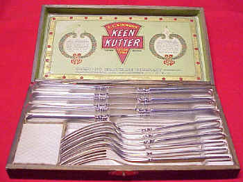 Keen Kutter Wood Boxed Set of Table Ware by Simmons