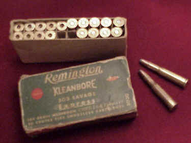 Remington .303 Savage Express SP Ammunition