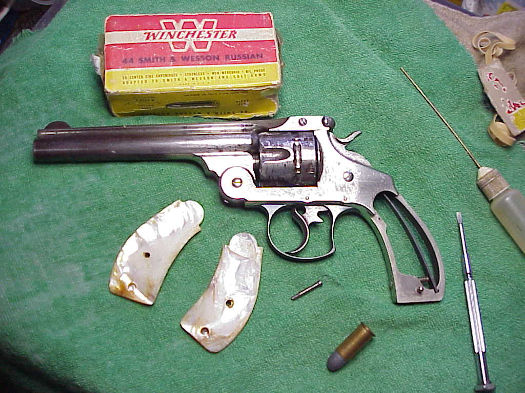 Smith & Wesson Double Action First Model in .44 Russian Caliber