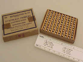 Winchester Box No. 111 Primers