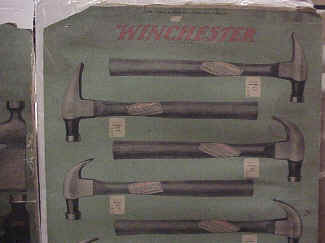 Winchester Advertising Panel 18-1 Hammers