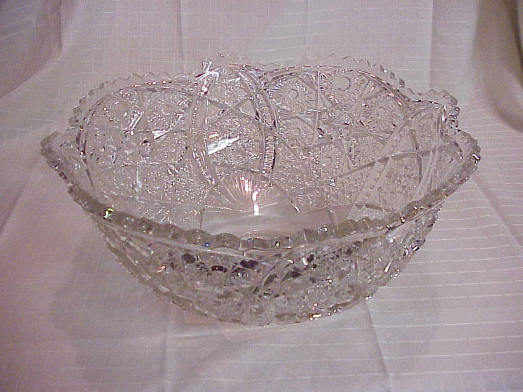 Punch Bowl clear pressed 2