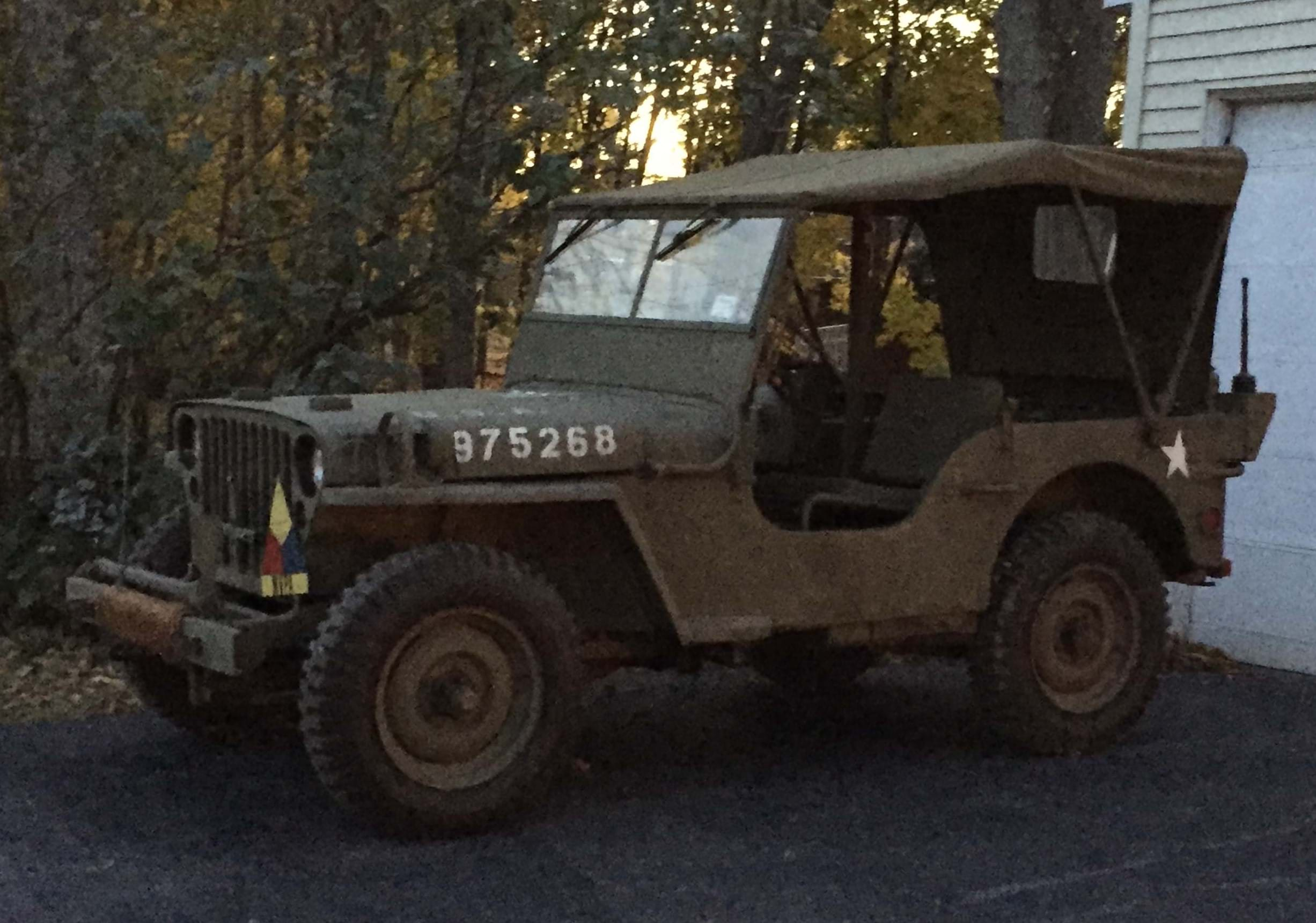 1943 WW II Jeep