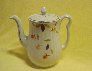 Autumn Leaf Long Spout Tea Pot