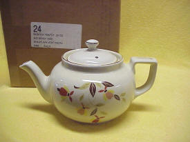 Autumn Leaf Boston Teapot