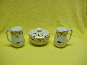 Autumn Leaf Jewel Tea Range Set with Left and Right Handle