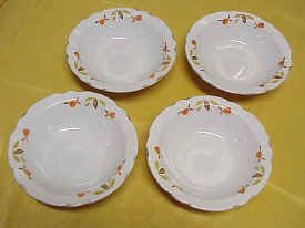 "Autumn Leaf Jewel Tea 6 1/2"" Cereal Bowls"