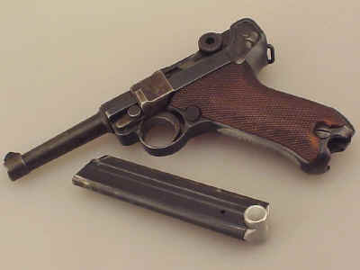 S/42 Luger 'G' Date P-O8