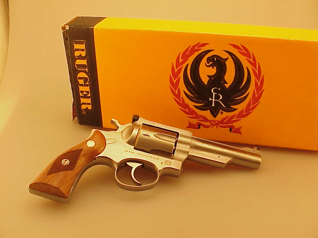 Pair of Ruger Security Six's, .357 Revolvers, Consecutive Serial Numbers, Both NIB
