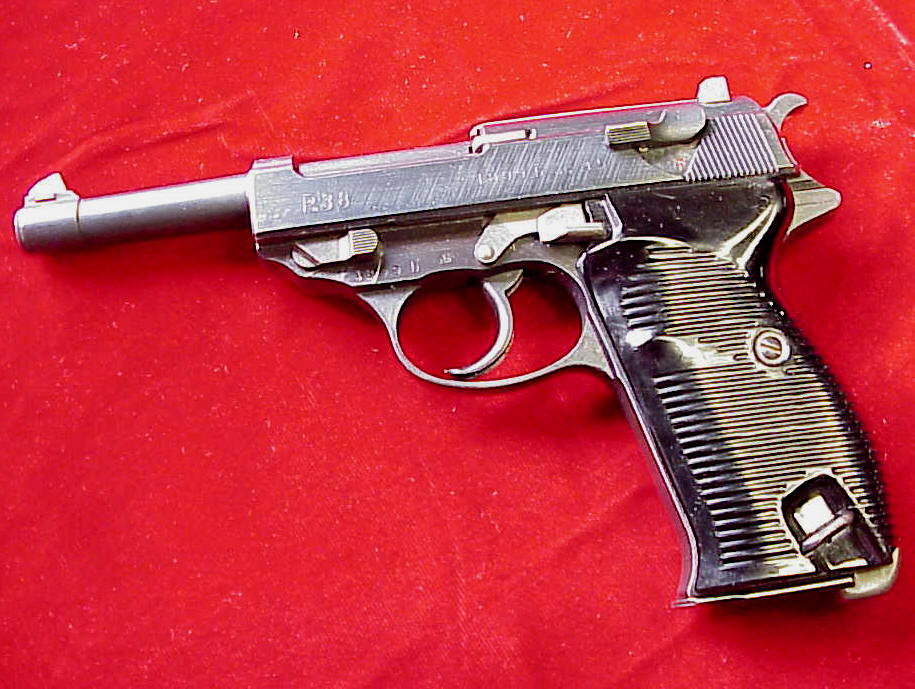 Walther Nazi marked P-38 with Eagle Proof AC45
