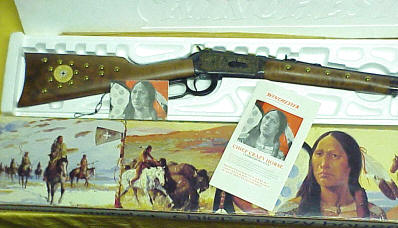Winchester Crazy Horse Rifle, 1983 Commemorative