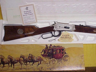 Winchester SR Carbine, 1977 Wells Fargo Commemorative
